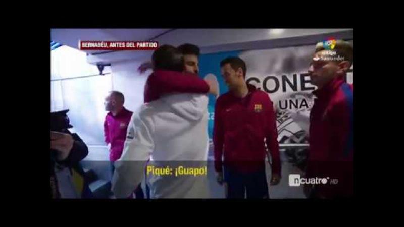 Deportividad máxima: bromas de Gerard Piqué y Sergio Ramos y saludo cariñoso de Marcelo y Paulinho