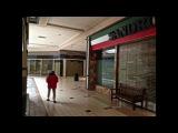 Talking Heads- Psycho Killer (playing while you hide in a not quite empty shopping centre)