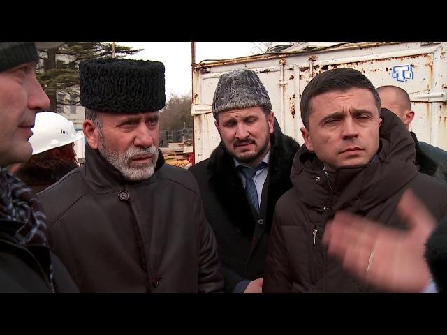 Ход строительства Соборной мечети поражает