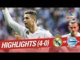 Обзор матча | Ла Лига (25-й тур) | Реал Мадрид - Алавес (4-0) | 24.02.2018