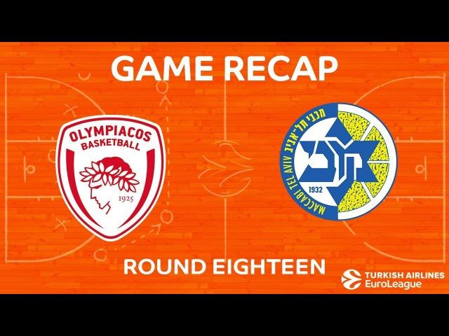 Highlights Olympiacos Piraeus Maccabi FOX Tel Aviv