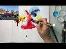 Городская Иллюстрация - рисуем Париж