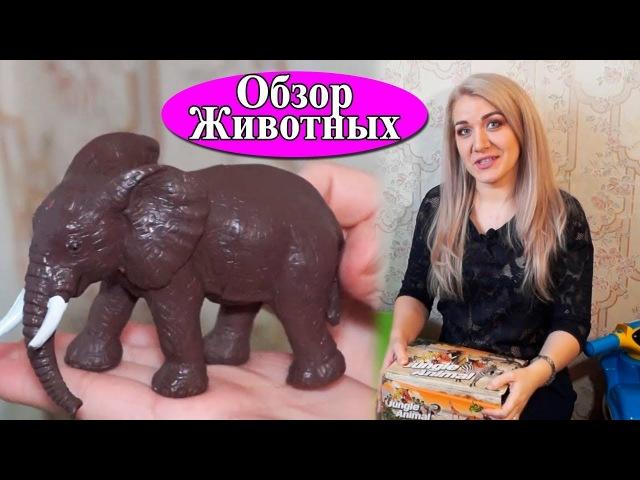 Обзор игрушек диких и домашних животных. Что подарить ребенку любого возраста? | Анюта Журило