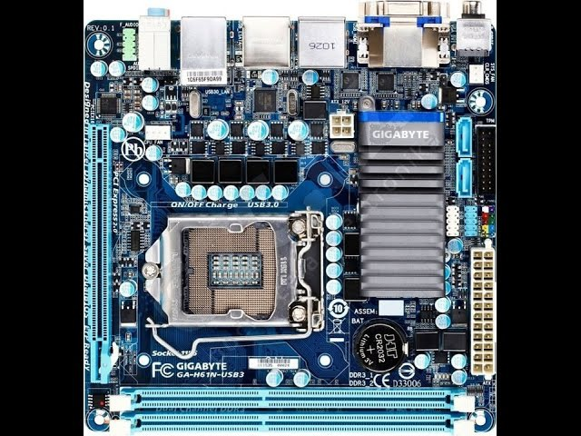 Ремонт материнской платы GA-H61N-USB3. Восстановление CPU VTT