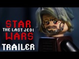 Star Wars The Last Jedi Trailer in LEGO