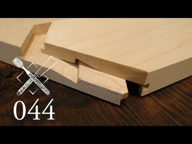 Joint Venture Ep.44: Keyed gable facia Daimochi schachi sen ogami (Japanese Joinery)