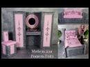 Мебель для кукол Монстер Хай. Рошель Гойл. / Furniture for Monster High Dolls. Rochelle Goyle.