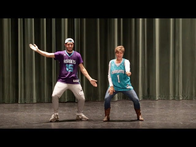 Mother and Son danced to the top songs of the decades