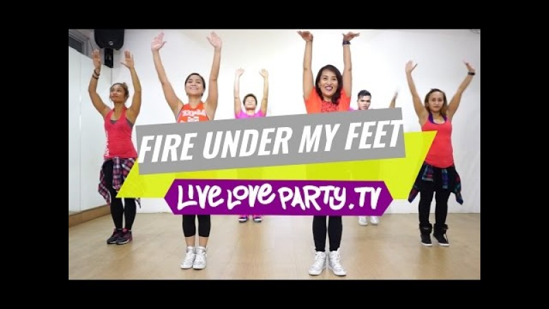 Fire Under My Feet by Leona Lewis (View on Desktop/Laptop) | Zumba® | Live Love Party