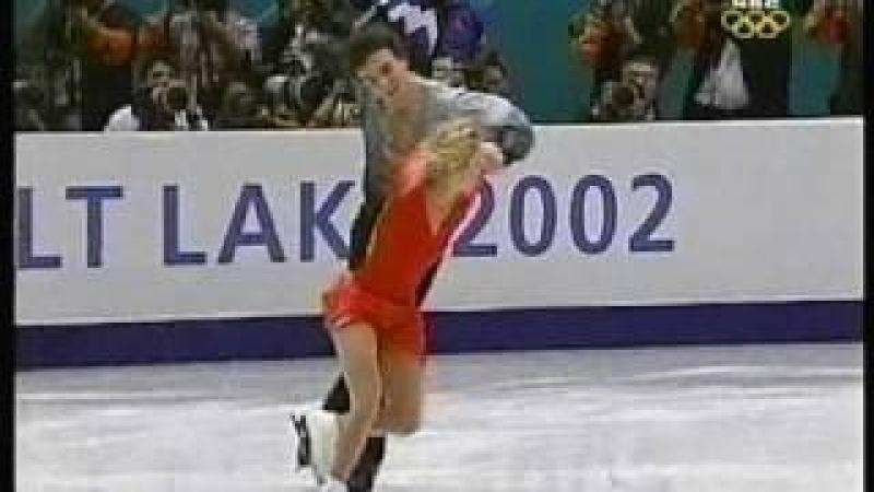 Berezhnaya Sikharulidze (RUS) - 2002 Salt Lake City, Figure Skating, Pairs' Free Skate
