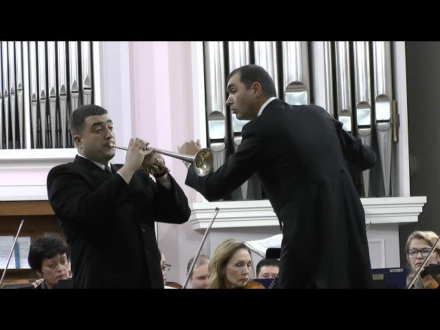 Й.Гайдн концерт для трубы. ТАСО гл дир Ярослав Ткаленко, солист А. Шелест