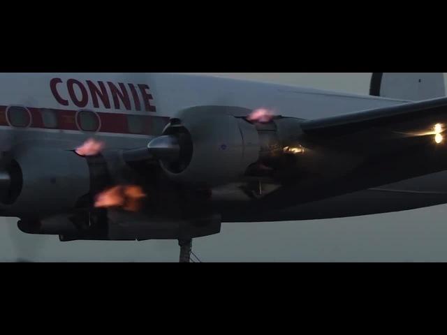 Поток ионизированного раскалённого воздуха из двигателя...