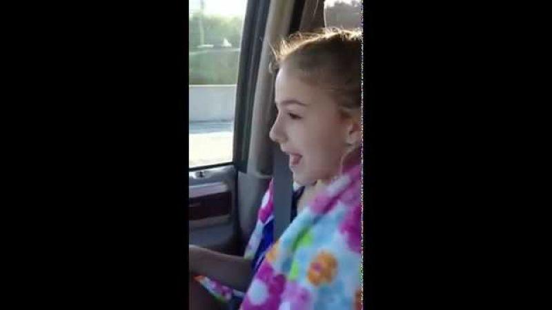 Chloe Lukasiak - Singing Dancing to What Makes You Beautiful