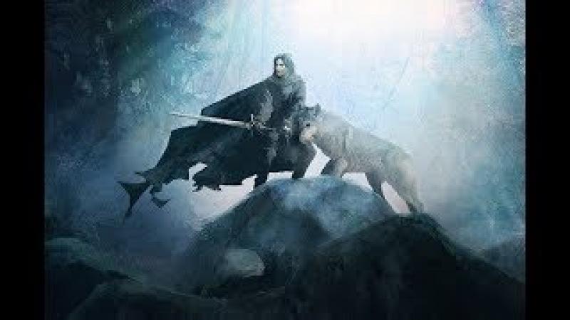 Джон Сноу Белый волк