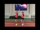 Урок 6. Передвижение в настольном теннисе. Сабитова - Зарыпова. Newton Arena.