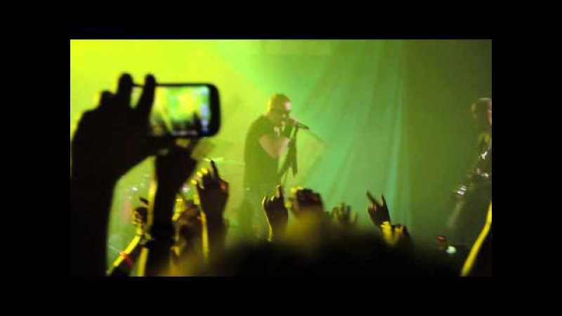 Poets of the Fall - Locking Up The Sun live (Moscow 05.11.2014)