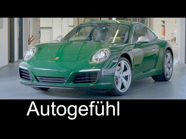 Porsche 911 No. 1 Million special production assembly 1000000th - Autogefühl