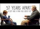 57 лет разницы Мальчик и Дедушка Разговаривают о Жизни