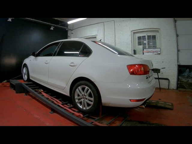 Jetta Mk6 Exhaust and Engine Software on Dyno