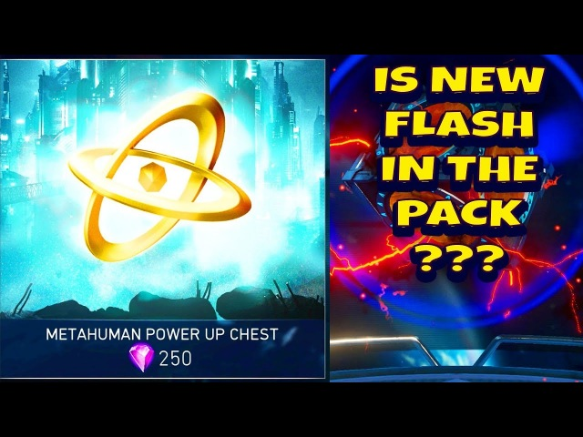 Injustice 2 Mobile. HUGE METAHUMAN POWER UP CHEST OPENING. Reverse and Justice League Flash here?