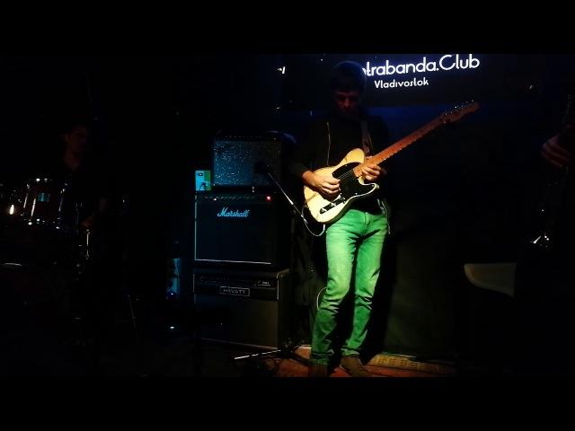 Джаз-джем 15.03.18 Contrabanda.club Владивосток jazz jam