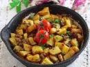 турецкаякухнятурецкаяеда Картошка с фаршем по-турецки/Простой и быстрый рецепт