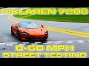 McLaren 720S Launch Control Testing 0-60 MPH on the Street