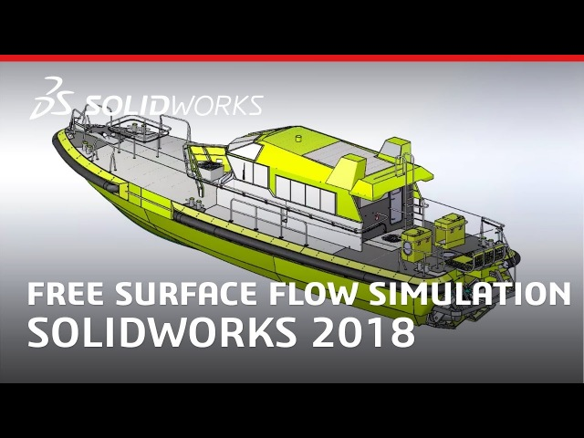 Free Surface Flow Simulation - SOLIDWORKS 2018