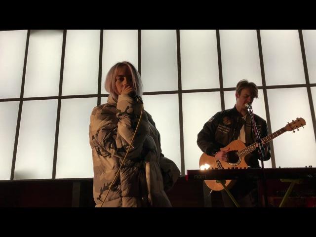 Billie Eilish - COPYCAT LIVE HD (2017) Los Angeles Space 15 Twenty