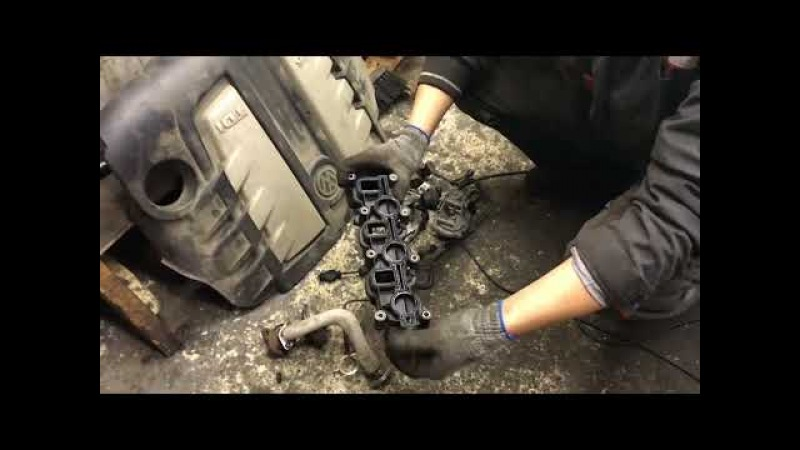 Ремонт . Volkswagen Touareg Audi Q7 3.0 TDI . Ошибка по вихревым заслонкам . Что делать ?