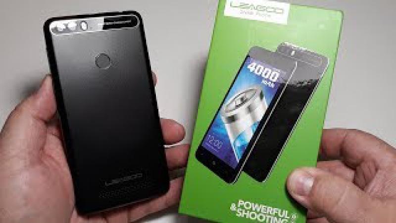 Leagoo kiicaa power 4000 max 2GB16GB - распаковка телефона и краткий обзор бюджетного смартфона