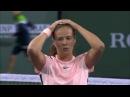 Касаткина победа над Уильямс WTA полуфинал. Эмоции