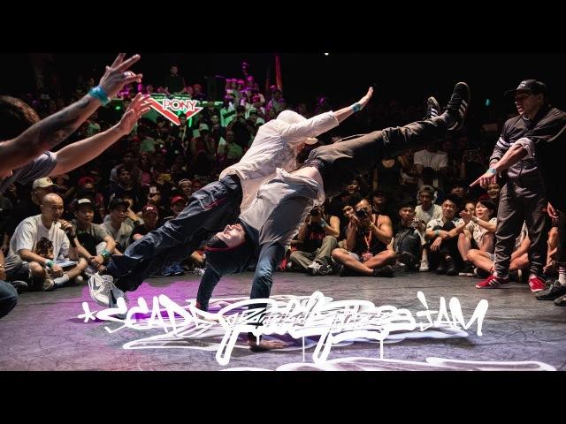 Red Bull BC One All Stars vs Team Cream | 4v4 Breakin Finals | Radikal Forze Jam 2018 | RPProds | Danceproject.info