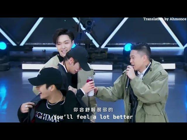✧ [Eng Sub] Idol Producer 偶像练习生 | Zhang Yixing Comforts Crying Trainee, Liang Hui (Ex 24K Member)