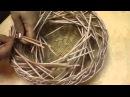 ▬► Газетное плетение Объемная загибка Часть 12 1