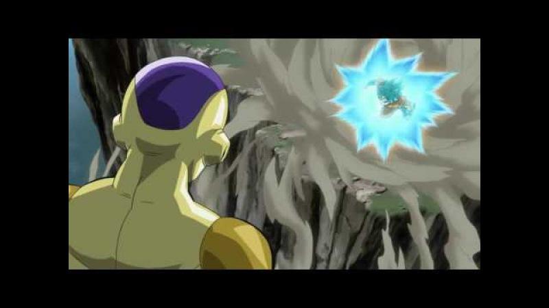 Гоку против Золотого Фризы Возрождение Ф АМВ (Goku vs Golden Frieza Ressurection f AMV)