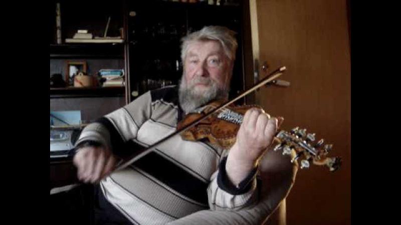 Haakon Solaas plays Fanitullen on the hardanger fiddle