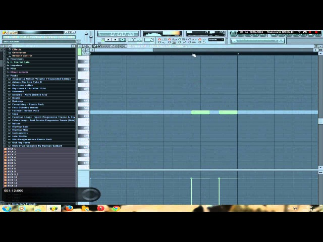 OneBeat - How to make Prog Trance Bassline. TUT 1