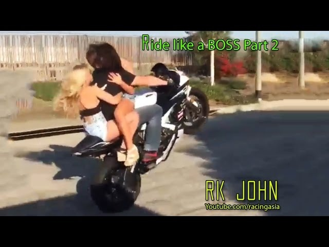 Ride like a BOSS Compilation - Part 2