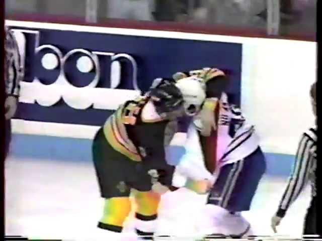 Jay Miller vs Chris Nilan Feb 16, 1987