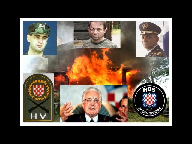 Ratni zločini Hrvatske 1991 - 1995