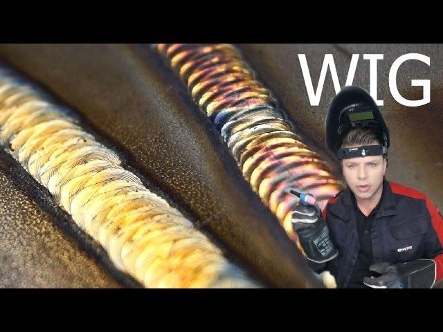 WIG TIG CrNi Edelstahl Schweißkurs - ewm Tetrix 230 AC DC - schöne Optik