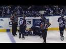 КХЛ Континентальная хоккейная лига - Моменты из матчей КХЛ сезона 16/17 - Удаление. Маллен Патрик