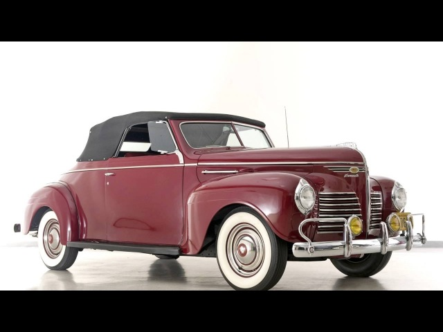 Plymouth DeLuxe Convertible P10 '1940