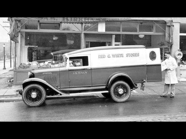 International D 1 Delivery Panel Truck 1931