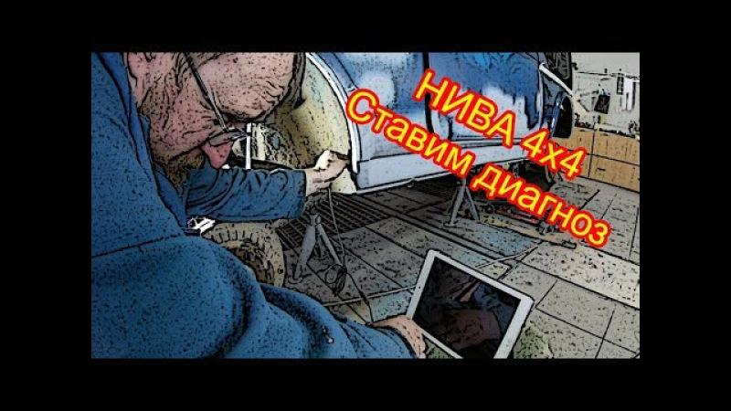 Нива 4х4 Обзор повреждений порогов эндоскопом Спотерим по моленьку хлопушку