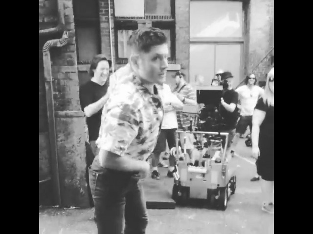"Bizarro Jensen on Instagram: ""sundaymemories . . . Action Ackles season 11 The Bad Seed video courtesy @mitchpileggi2 . . Jensen jensenackles ..."