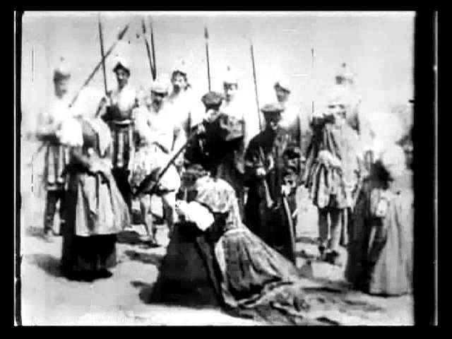 The Execution of Mary, Queen of Scots (1895) - 1st Film Edit - Alfred Clark | Thomas Edison