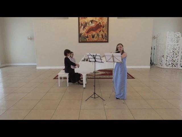К Ф Э Бах 1714 1788 Соната для флейты и чембало соль мажор Hamburger Sonate