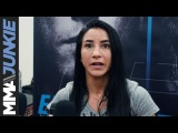 UFC on FOX 28 Tecia Torres talks after her open workout in Orlando